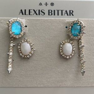 Alexis Bittar Earring Jacket Set